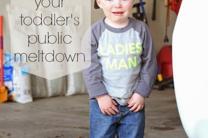10 Tips to Surviving Your Toddler's Public Meltdown