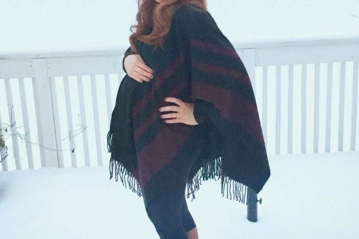 Poncho Love and Keeping My Colors Bright