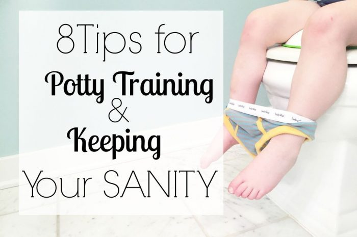 8 Tips for Potty Training and Keeping Your Sanity