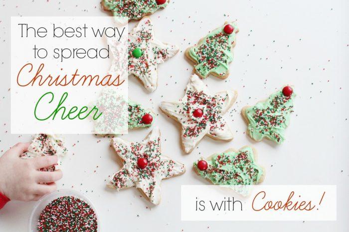 We sure do like those Christmas cookies