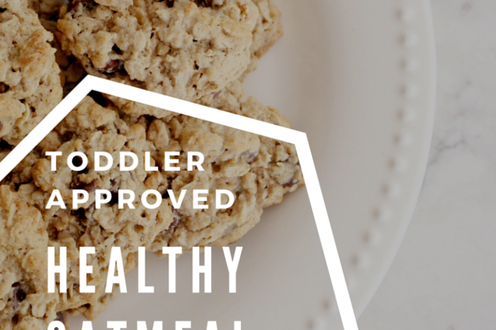 Toddler Approved Healthy Oatmeal Cookies