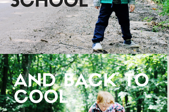 Back to School and Back to Cool