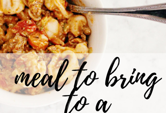 The Best Meal to Bring to a New Mama