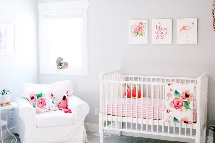 Baby Girl Nursery Artwork