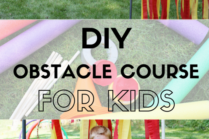 DIY Obstacle Course for Kids