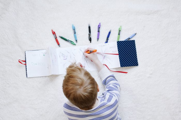 DIY Kids Accordion Book