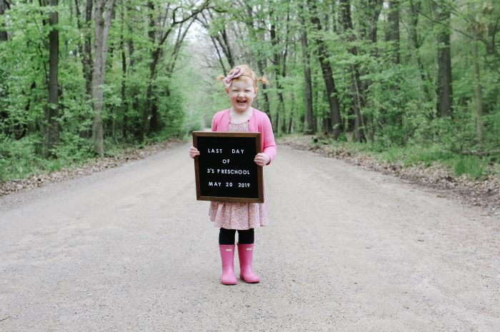 Sadie's Last Day of Preschool!