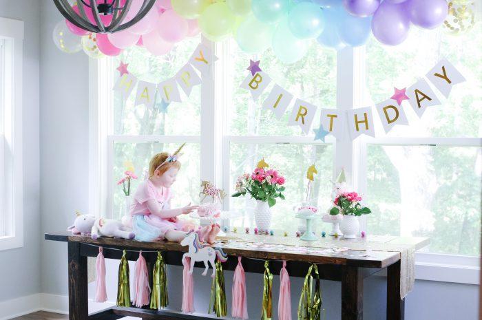 Sadie's Unicorn Birthday Party