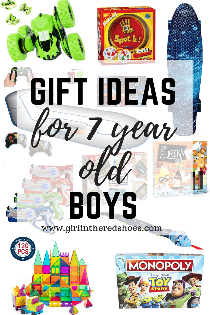 Gift Ideas for 7 Year Old Boys
