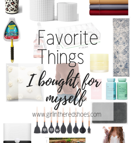 Favorite Things I Bought for Myself