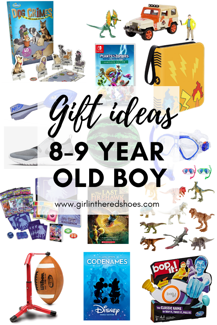 Gift Ideas for 8-9 Year Old Boys
