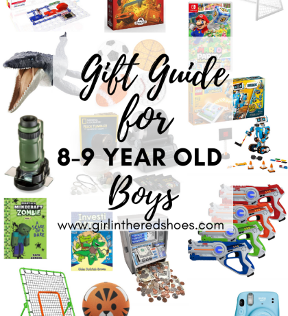 Gift Guide for 8-9 Year Old Boys