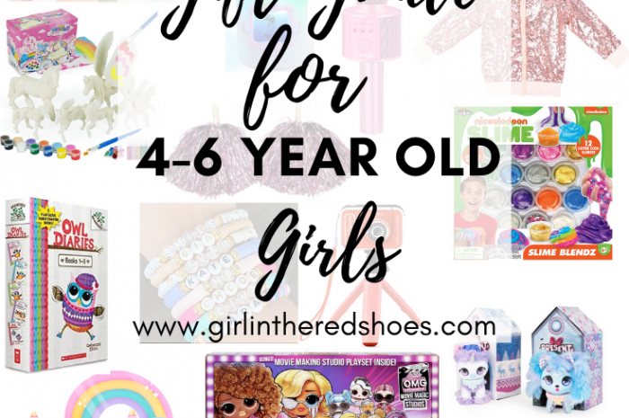 Gift Guide for 4-6 Year Old Girls